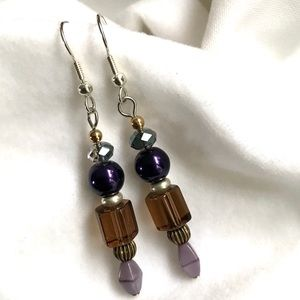 Handmade Beaded Earrings Vintage & Modern (E78)